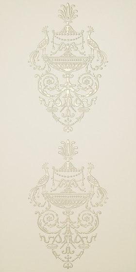 Ad Personam petites paonnes madreperla de Petracer's Ceramics | Carrelage céramique