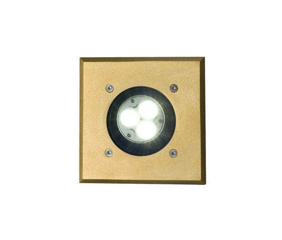 7602 Recessed Uplight, Brass, GU10 de Original BTC | Lámparas empotrables de pared