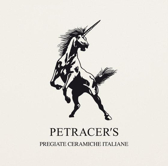 Carisma Italiano Logo bianco thassos superiore de Petracer's Ceramics | Carrelage céramique