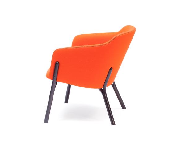 Split Lounge armchair de TON | Sillones