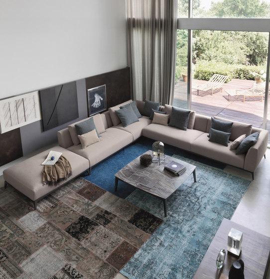 Olivier sofa modular sofa systems from flou architonic for Quali sono i migliori divani in pelle