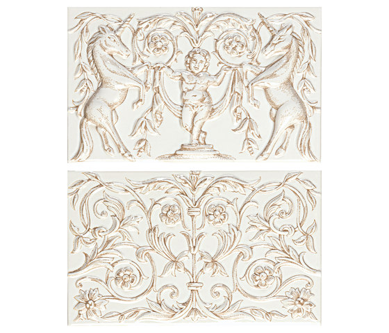 Grand Elegance unicorni B su panna de Petracer's Ceramics   Carrelage céramique