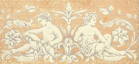 Grand Elegance gemelli con cornucopia su crema A de Petracer's Ceramics | Carrelage céramique