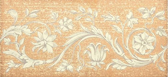 Grand Elegance gemelli con cornucopia su crema B de Petracer's Ceramics   Carrelage céramique