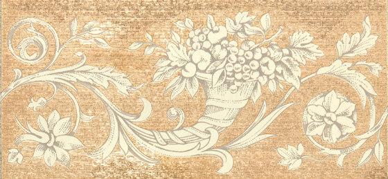 Grand Elegance gemelli con cornucopia su crema C de Petracer's Ceramics   Carrelage céramique