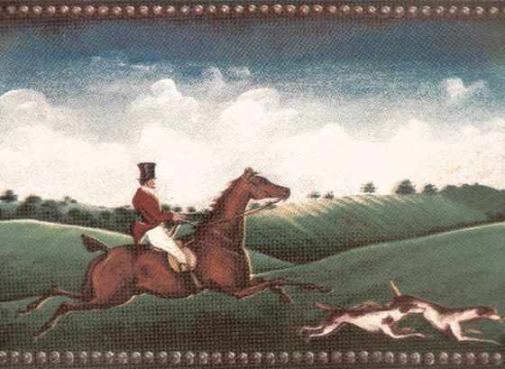 Grand Elegance country life fox hunting A by Petracer's Ceramics | Ceramic tiles