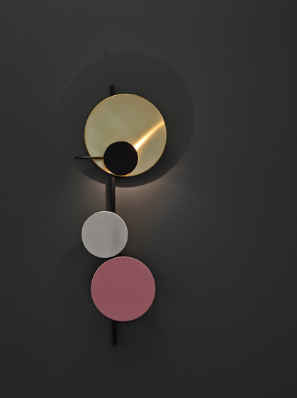Planet Lamp | Indian Red by Please Wait to be Seated | Wall lights