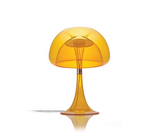 Aurelia Table | Orange by QisDesign | Table lights