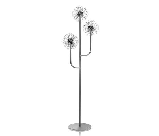 Coral Floor | Clear von QisDesign | Free-standing lights