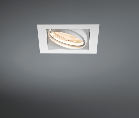 Multiple 1x CDM-T GE by Modular Lighting Instruments | Recessed ceiling lights