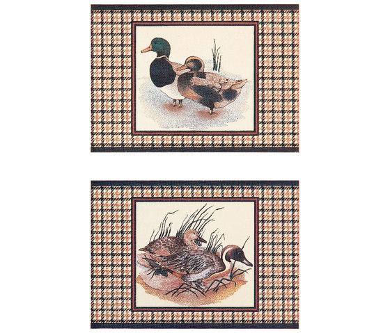 Grand Elegance country life canard B de Petracer's Ceramics | Carrelage céramique