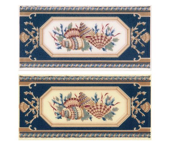 Grand Elegance yacht club conchiglie su crema de Petracer's Ceramics | Carrelage céramique