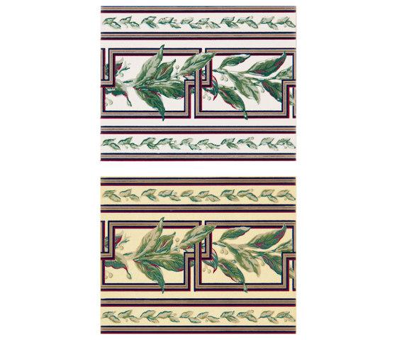 Grand Elegance fleures ficus su crema de Petracer's Ceramics | Carrelage céramique
