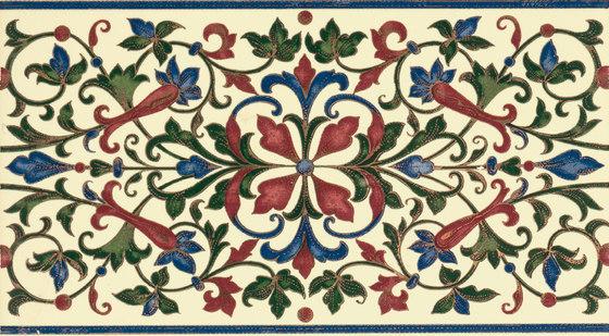 Grand Elegance fleures bouquet su crema de Petracer's Ceramics   Carrelage céramique