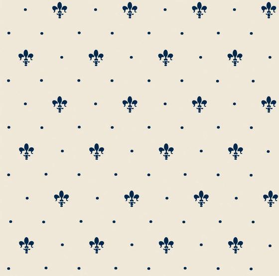 Grand Elegance giglio blu su panna de Petracer's Ceramics | Carrelage céramique
