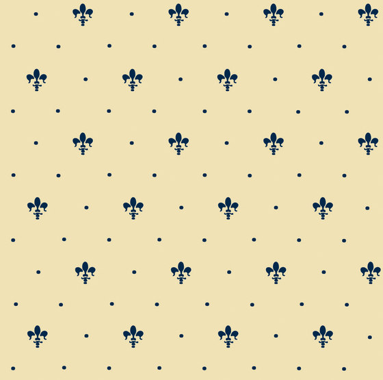Grand Elegance giglio blu su crema de Petracer's Ceramics | Carrelage céramique