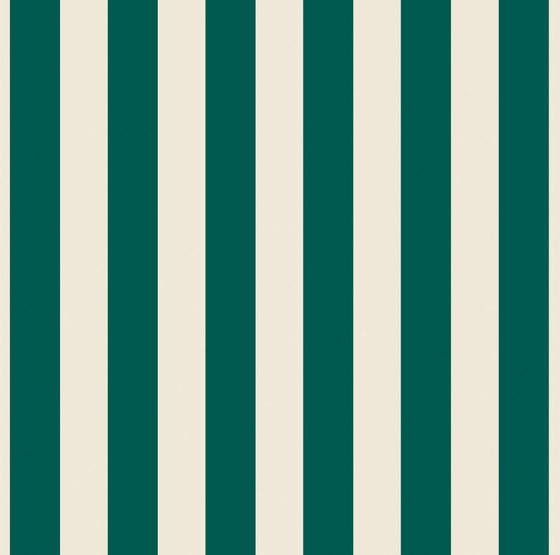 Grand Elegance riga grande verde su panna de Petracer's Ceramics | Carrelage céramique