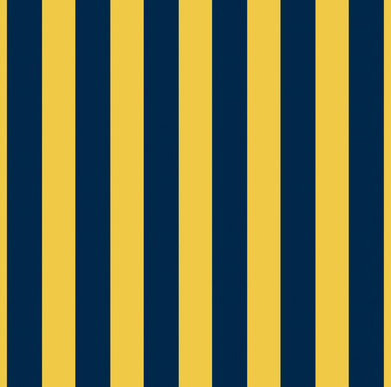 Grand Elegance riga grande blu su giallo ocra de Petracer's Ceramics | Carrelage céramique