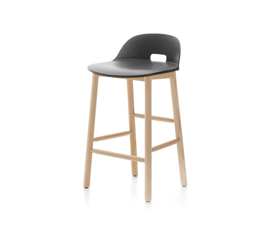 Alfi Counter stool low back di emeco | Sgabelli bancone