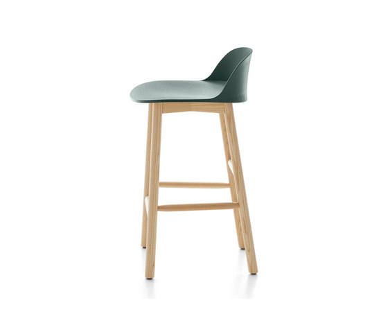 Alfi Counter Stool Low Back Bar Stools From Emeco