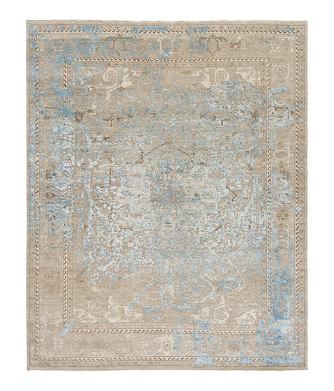 Immersive Golden orchid silver by THIBAULT VAN RENNE | Rugs