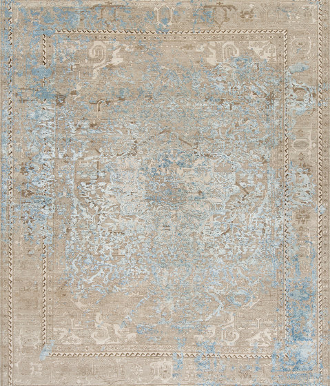 Immersive Golden orchid silver by THIBAULT VAN RENNE | Rugs / Designer rugs
