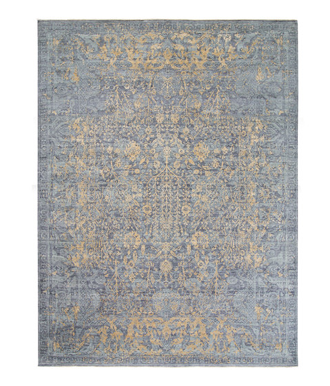 Immersive Tred 3 grey gold by THIBAULT VAN RENNE | Rugs
