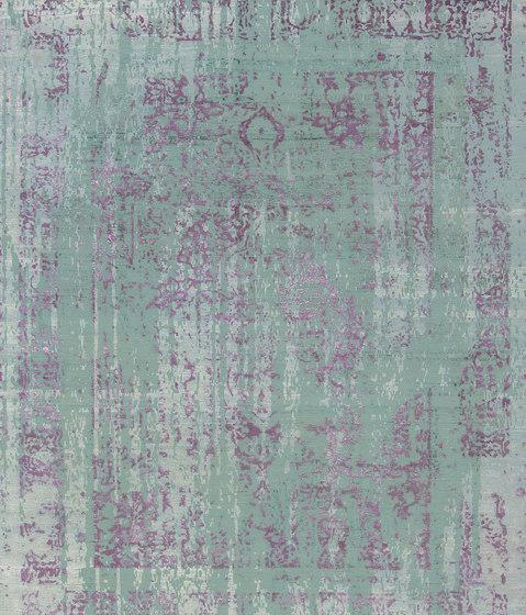 Immersive Vispan couture green purple by THIBAULT VAN RENNE   Rugs