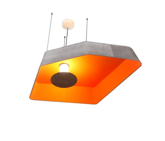 Nénuphar Trio Suspension grand LED de designheure | Éclairage général