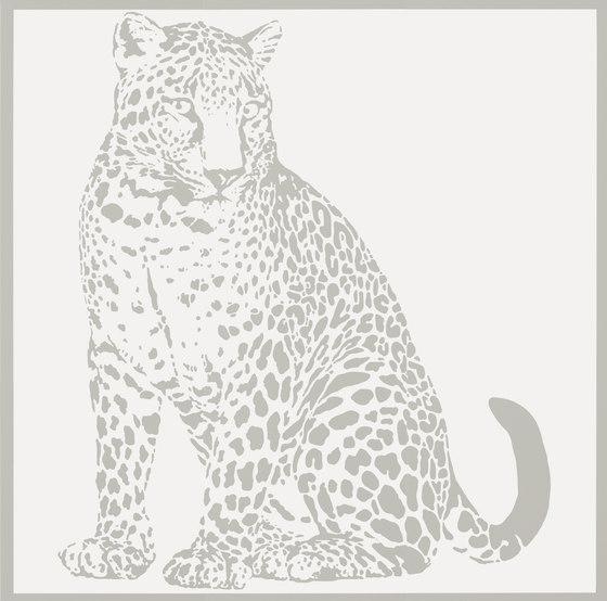 Gran Galà leopardo seduto bianco de Petracer's Ceramics   Carrelage céramique
