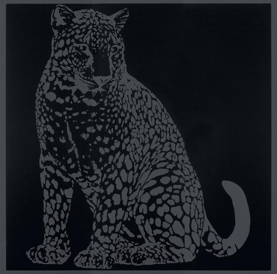 Gran Galà leopardo seduto nero de Petracer's Ceramics | Carrelage céramique