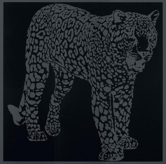 Gran Galà leopardo a caccia nero de Petracer's Ceramics | Carrelage céramique