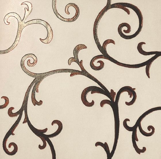 Rinascimento Decorata avorio rame de Petracer's Ceramics | Carrelage céramique