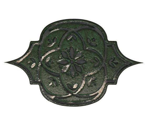 Unico tozzetto smeraldo metal de Petracer's Ceramics | Carrelage céramique