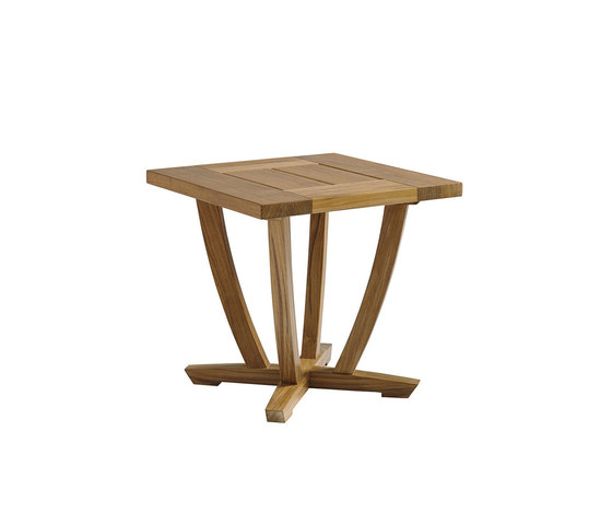 Oyster Reef Square End Table by Gloster Furniture GmbH | Side tables