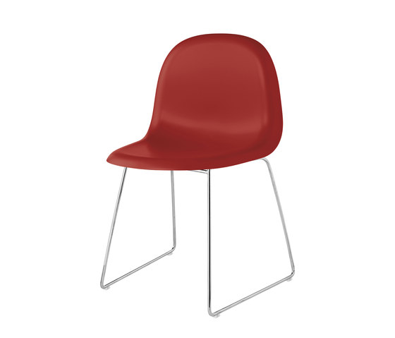 Gubi Chair – Sledge Base by GUBI | Chairs