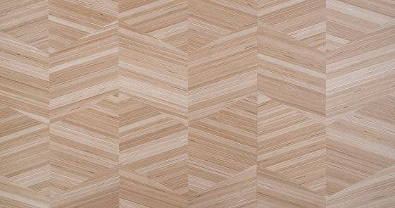Plexwood - Geometrisch Parallelogramm von Plexwood | Holz Furniere