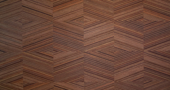 Plexwood - Geometric Square by Plexwood | Wood veneers