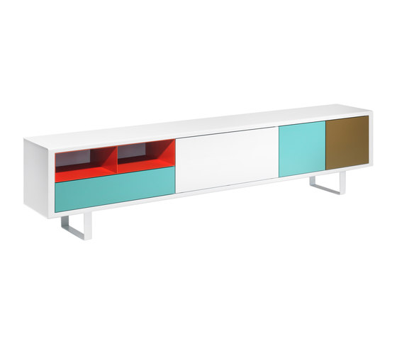 Modular S36 Sideboard di Müller Möbelfabrikation | Credenze