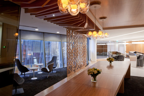 Plexwood Application - CBRE Global Investors by Plexwood | Wood panels