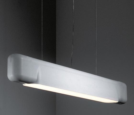 U shape suspended TL5 GI di Modular Lighting Instruments | Lampade sospensione