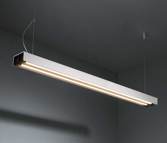 United 2x 28/54W GI by Modular Lighting Instruments | Suspended lights