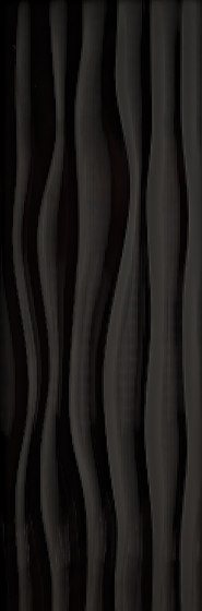 Millenium flow negro brillo von KERABEN | Keramik Fliesen