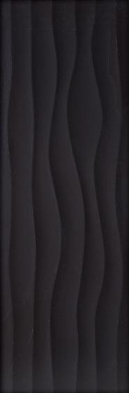 Millenium flow negro mate by KERABEN | Ceramic tiles