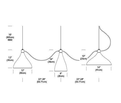 Swell String 3 Vertical di Pablo | Illuminazione generale