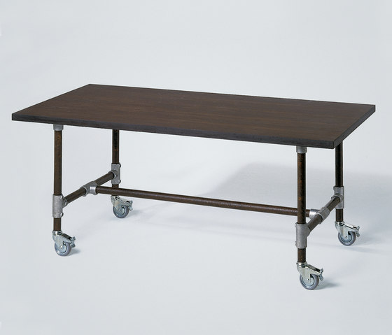 Industrie table by Lambert | Dining tables