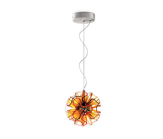 Coral Ball Suspension | Orange de QisDesign | Suspensions