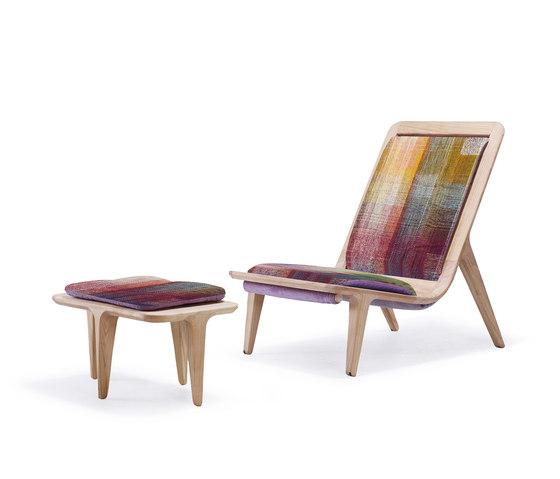 LayAir 01 Armchair & Ottoman by Hookl und Stool   Armchairs