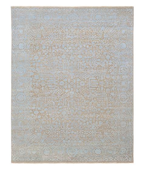 Kork Reintegrated blue & grey oxidized by THIBAULT VAN RENNE | Rugs
