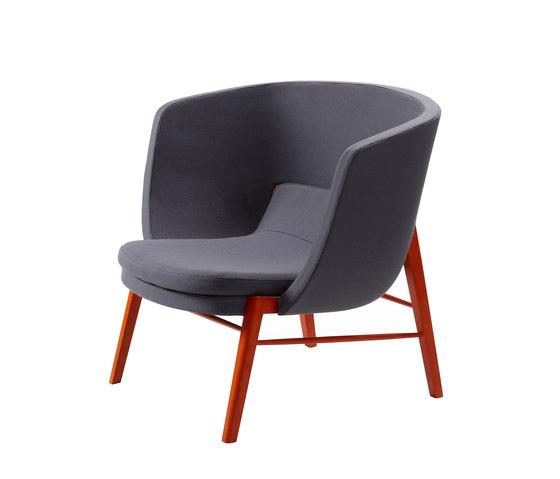Cleo Lounge von Rossin | Sessel